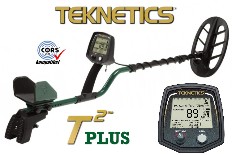 T2 plus Metalldetektor