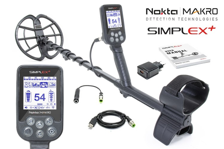 Simplex Metalldetektor